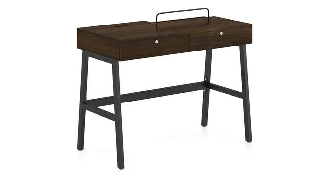 Terry - Ray Study Set (Black, English Walnut Finish) by Urban Ladder - Front View Design 1 - 299268