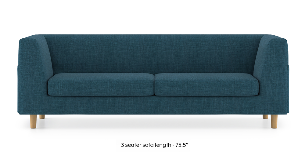 Armeo Sofa (Colonial Blue) by Urban Ladder - -