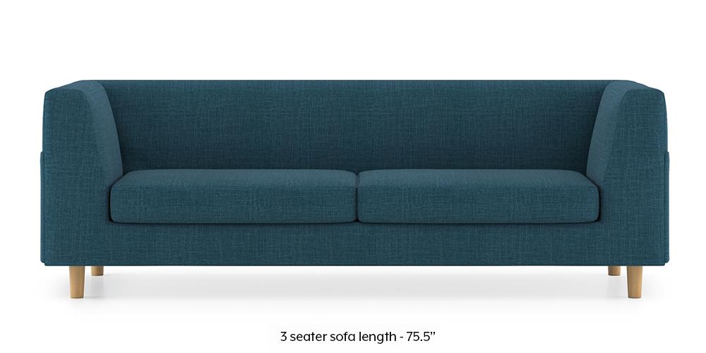 Armeo Sofa (Colonial Blue) by Urban Ladder - -