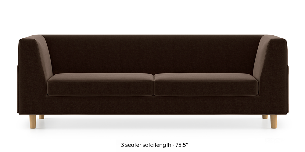 Armeo Sofa (Dark Earth) by Urban Ladder - -