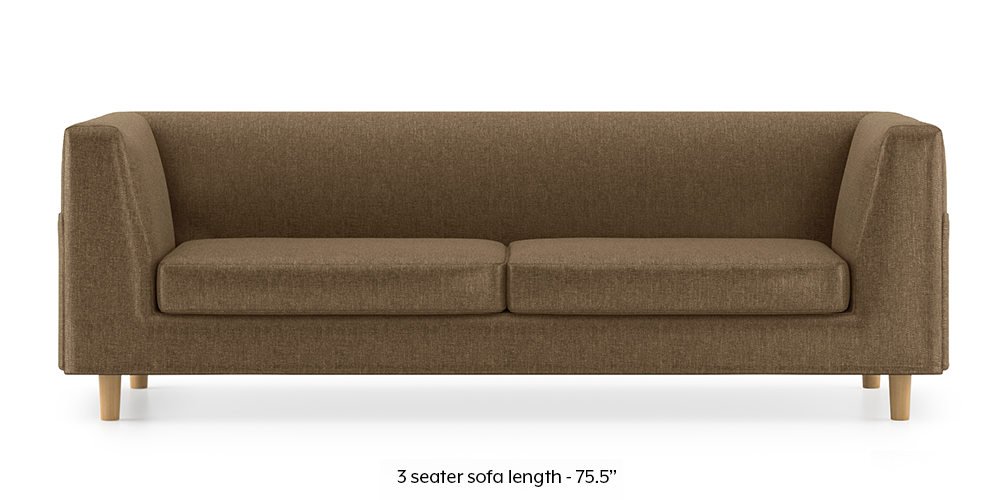 Armeo Sofa (Dune Brown) by Urban Ladder - -