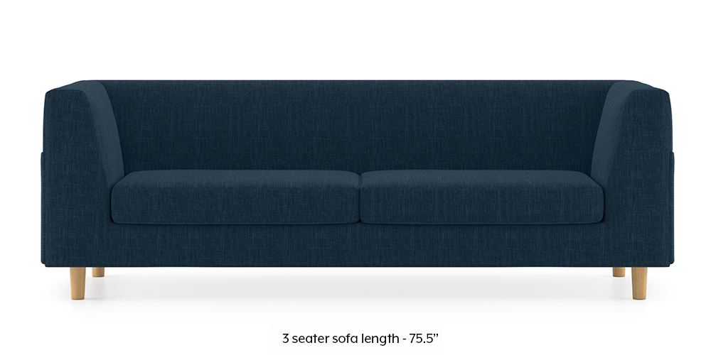 Armeo Sofa (Indigo Blue) by Urban Ladder - -