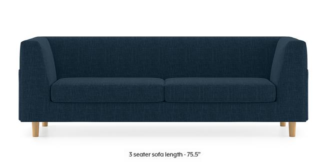 Rubik Sofa (Indigo Blue) (1-seater Custom Set - Sofas, None Standard Set - Sofas, Indigo Blue, Fabric Sofa Material, Regular Sofa Size, Regular Sofa Type)