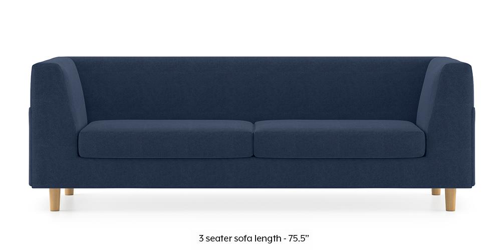 Armeo Sofa (Lapis Blue) by Urban Ladder - -