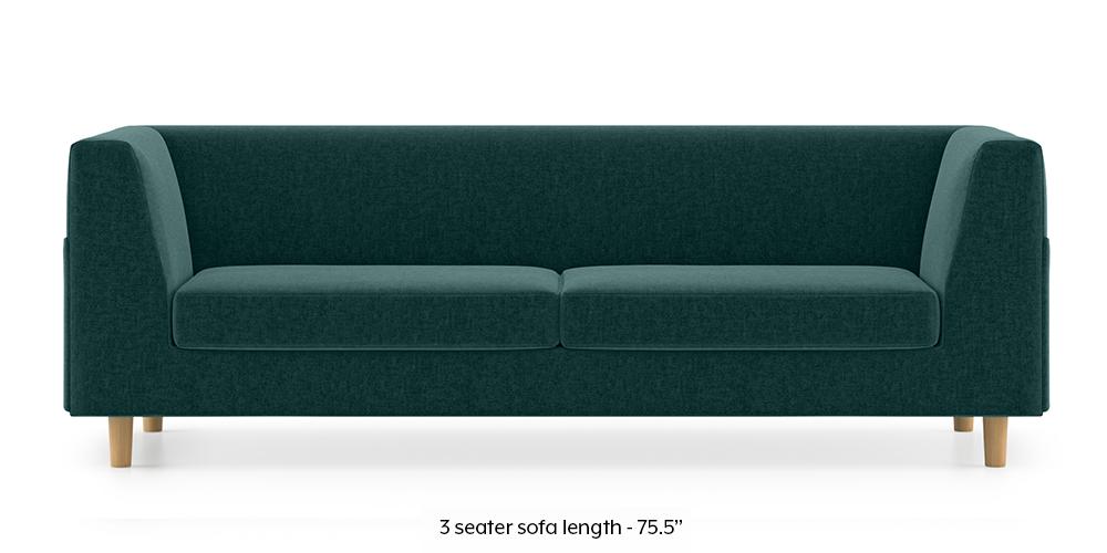 Armeo Sofa (Malibu Blue) by Urban Ladder - -