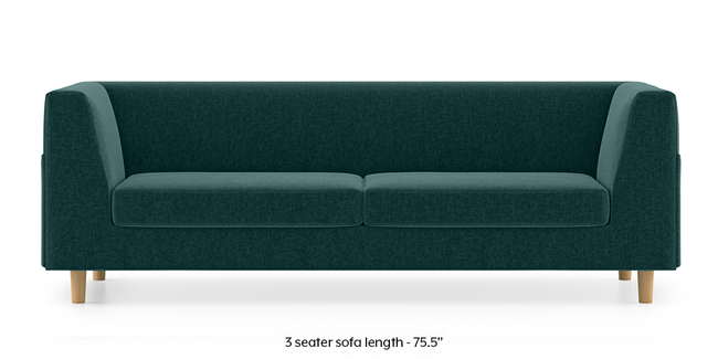 Rubik Sofa (Malibu Blue) (1-seater Custom Set - Sofas, None Standard Set - Sofas, Fabric Sofa Material, Regular Sofa Size, Malibu, Regular Sofa Type)