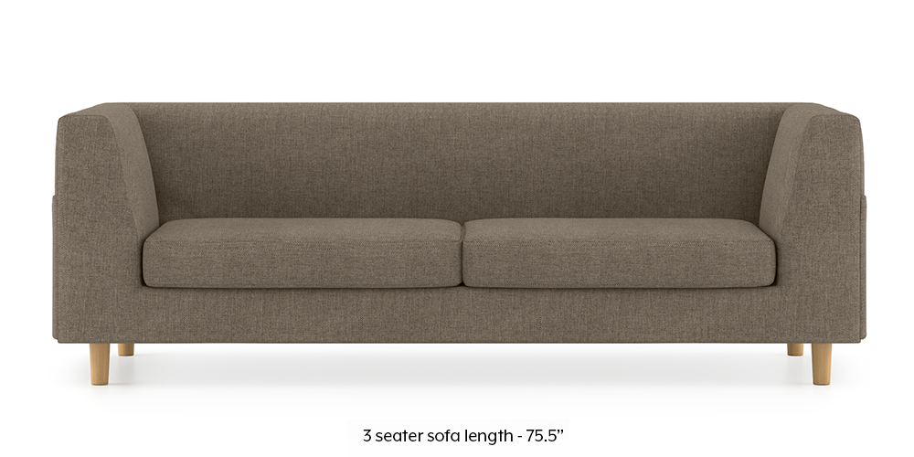Armeo Sofa (Mist Brown) by Urban Ladder - -