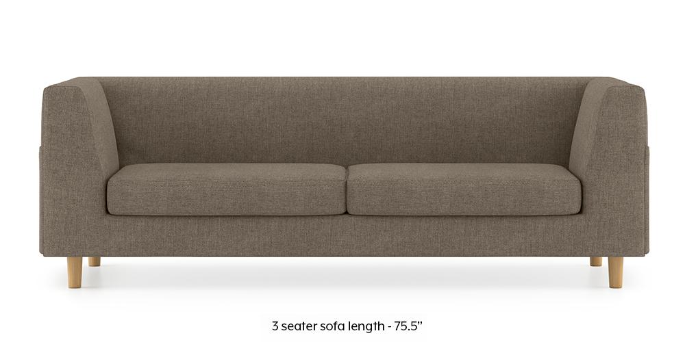Armeo Sofa (Mist Brown) by Urban Ladder - -