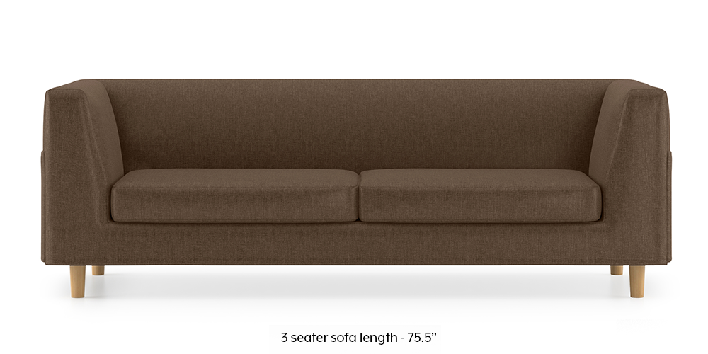 Armeo Sofa (Mocha Brown) by Urban Ladder - -
