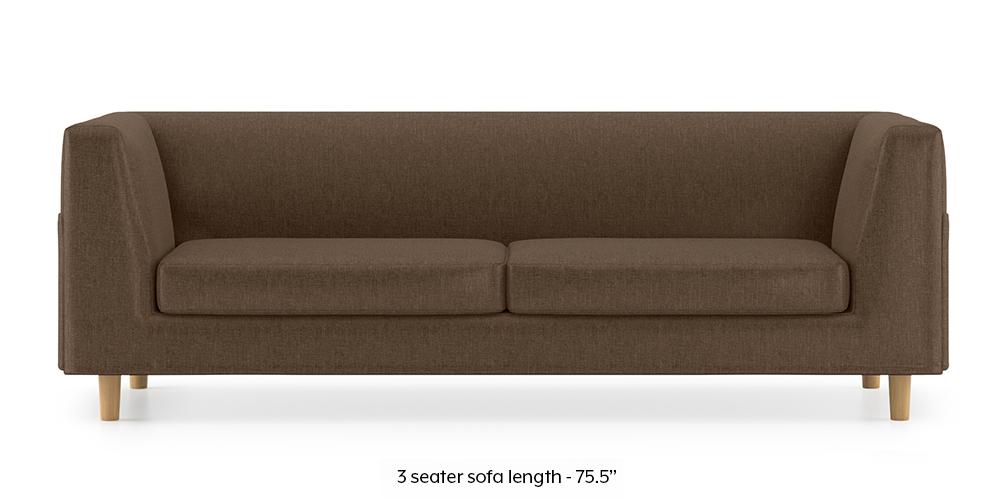 Armeo Sofa (Mocha Brown) by Urban Ladder - -