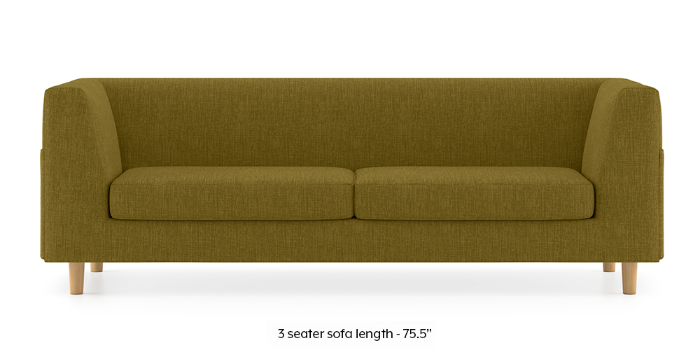 Armeo Sofa (Olive Green) by Urban Ladder - -