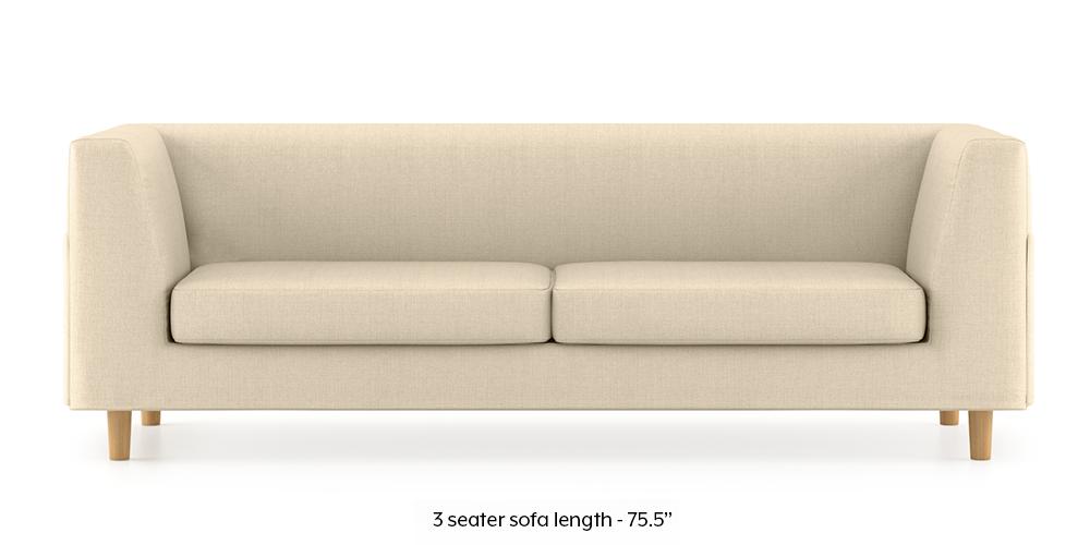 Armeo Sofa (Pearl White) by Urban Ladder - -