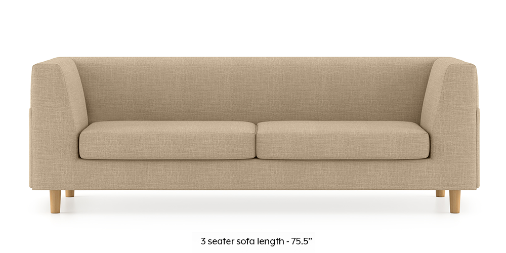 Armeo Sofa (Sandshell Beige) by Urban Ladder - -