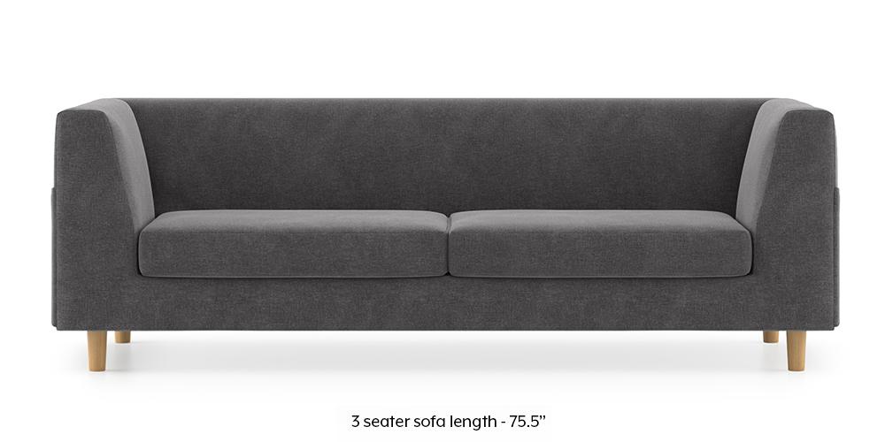 Armeo Sofa (Smoke Grey) by Urban Ladder - -