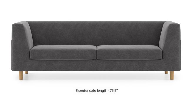 Rubik Sofa (Smoke Grey) (2-seater Custom Set - Sofas, None Standard Set - Sofas, Smoke, Fabric Sofa Material, Regular Sofa Size, Regular Sofa Type)