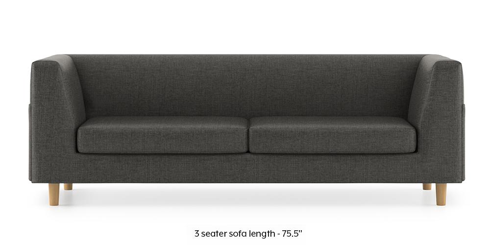 Armeo Sofa (Steel Grey) by Urban Ladder - -