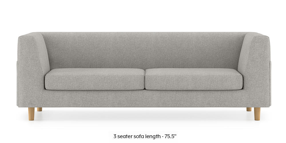 Armeo Sofa (Vapour Grey) by Urban Ladder - -
