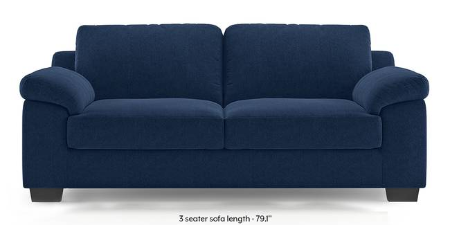 Esquel Sofa (Lapis Blue) (1-seater Custom Set - Sofas, None Standard Set - Sofas, Fabric Sofa Material, Regular Sofa Size, Regular Sofa Type, Lapis Blue)