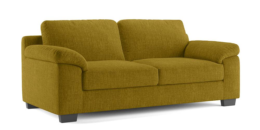 Esquel Sofa (Olive Green) (1-seater Custom Set - Sofas, None Standard Set - Sofas, Olive, Fabric Sofa Material, Regular Sofa Size, Regular Sofa Type) by Urban Ladder - -