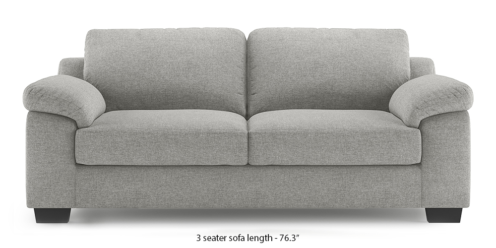 Esquel Sofa (Vapour Grey) (1-seater Custom Set - Sofas, None Standard Set - Sofas, Fabric Sofa Material, Regular Sofa Size, Regular Sofa Type, Vapour Grey) by Urban Ladder - - 300317