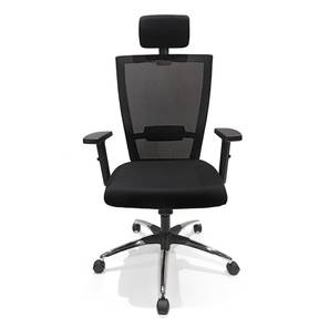 Werner Study Chair (Black) by Urban Ladder - Front View Design 1 - 300359