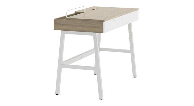 Terry Study Table (Honey Walnut Finish) by Urban Ladder - Cross View Design 1 - 300415