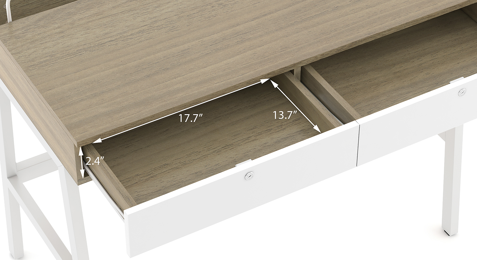 Terry study table honey walnut 22