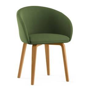 Meryl Lounge Chair (Olive) by Urban Ladder - Design 1 - 300562