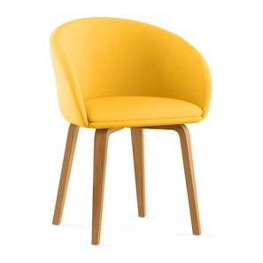 Meryl lounge chair yellow lp