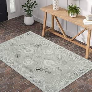 "Shabnam Hand Tufted Carpet (152 x 244 cm  (60"" x 96"") Carpet Size, Natural) by Urban Ladder - Front View Design 1 - 300700"