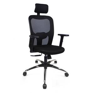Edmund Study Chair (Black, Beta Chair Base) by Urban Ladder - Design 1 - 300758