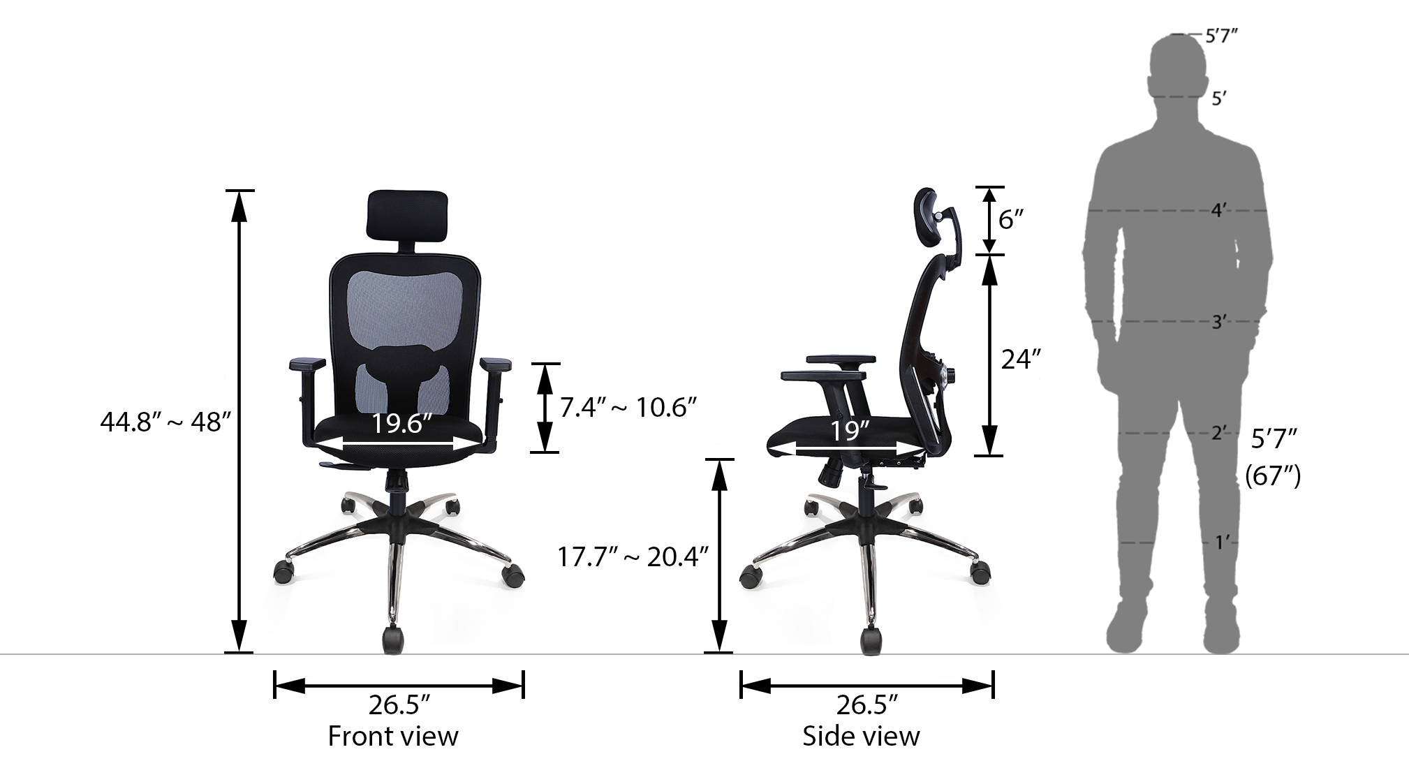 Edmund beta base study chair 21