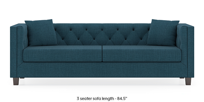 Windsor Sofa (Colonial Blue) (1-seater Custom Set - Sofas, None Standard Set - Sofas, Fabric Sofa Material, Regular Sofa Size, Regular Sofa Type, Colonial Blue)