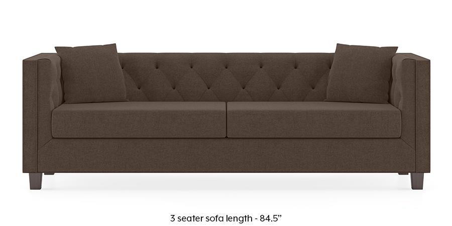 Windsor Sofa (Daschund Brown) by Urban Ladder - -