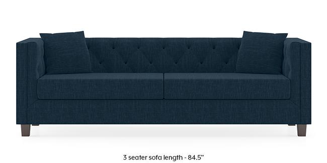 Windsor Sofa (Indigo Blue) (3-seater Custom Set - Sofas, None Standard Set - Sofas, Indigo Blue, Fabric Sofa Material, Regular Sofa Size, Regular Sofa Type)