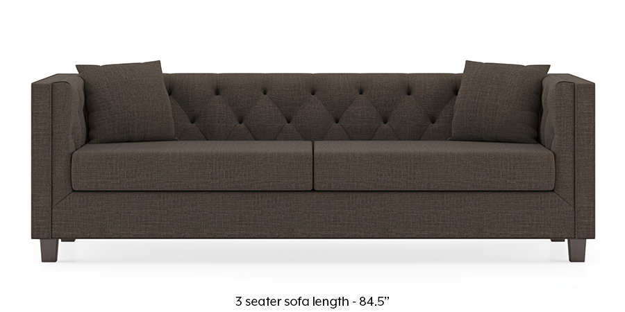 Windsor Sofa (Pine Brown) by Urban Ladder - -