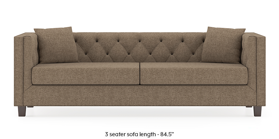 Windsor Sofa (Safari Brown) by Urban Ladder - -