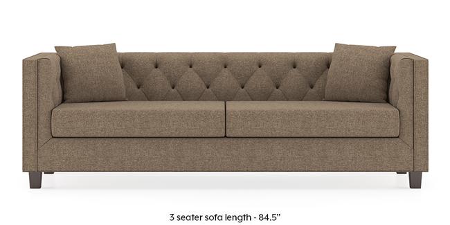 Windsor Sofa (Safari Brown) (1-seater Custom Set - Sofas, None Standard Set - Sofas, Fabric Sofa Material, Regular Sofa Size, Regular Sofa Type, Safari Brown)