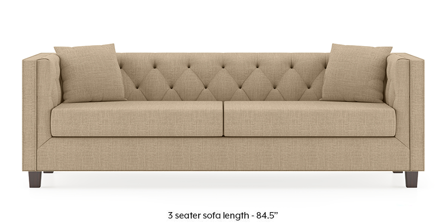 Windsor Sofa (Sandshell Beige) by Urban Ladder - -