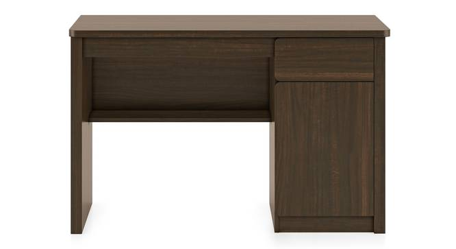 Graham Study Table (Californian Walnut Finish) by Urban Ladder - Front View Design 1 - 301409