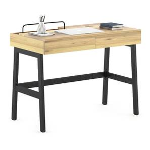 Jeremy Study Table (Natural Finish) by Urban Ladder - Design 1 Full View - 301436