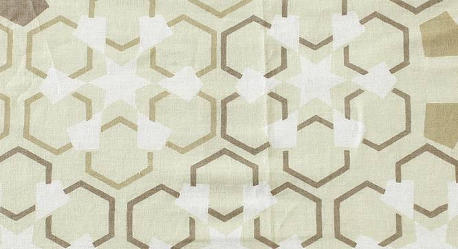 Darpan Bedsheet Set (Beige, Double Size) by Urban Ladder - Front View Design 1 - 301619