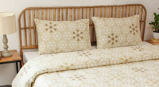 Darpan Dohar (Beige, Double Size) by Urban Ladder - Design 1 Full View - 301845