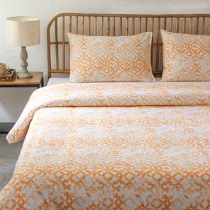 Jaal Dohar (Orange, Double Size) by Urban Ladder - Design 1 Full View - 301863