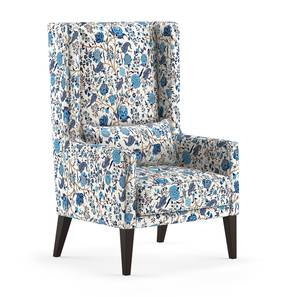 Morgen Wing Chair (Calico Print) by Urban Ladder - Design 1 - 301949