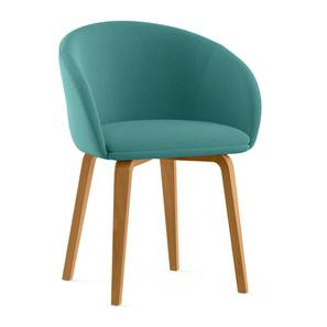 Meryl Lounge Chair (Teal) by Urban Ladder - Design 1 - 302118