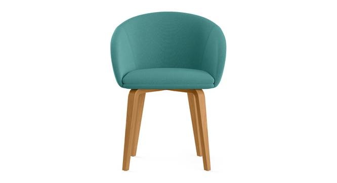 Meryl Lounge Chair (Teal) by Urban Ladder - Front View Design 1 - 302119