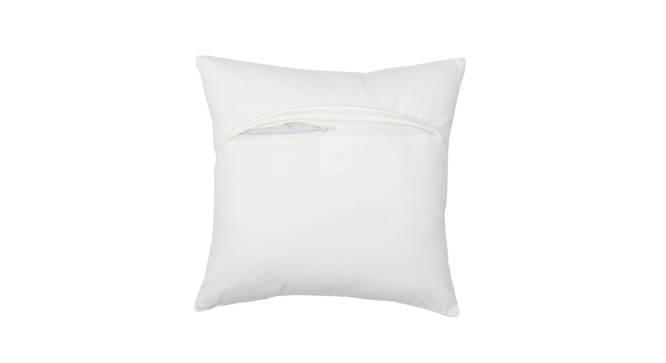 "Safetypin Cushion Cover (Blue, 41 x 41 cm  (16"" X 16"") Cushion Size) by Urban Ladder - Rear View Design 1 - 302175"