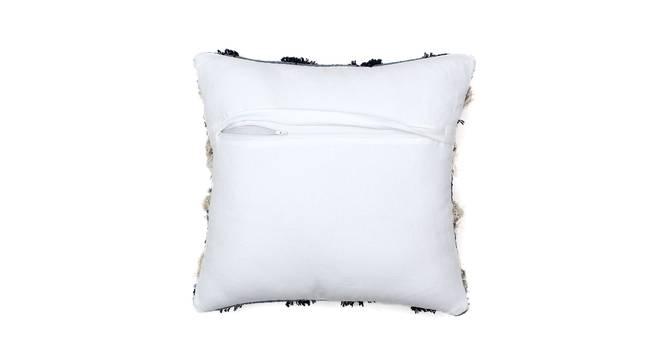 """Reshe Cushion Cover (Blue, 41 x 41 cm  (16"""" X 16"""") Cushion Size) by Urban Ladder - Rear View Design 1 - 302184"""