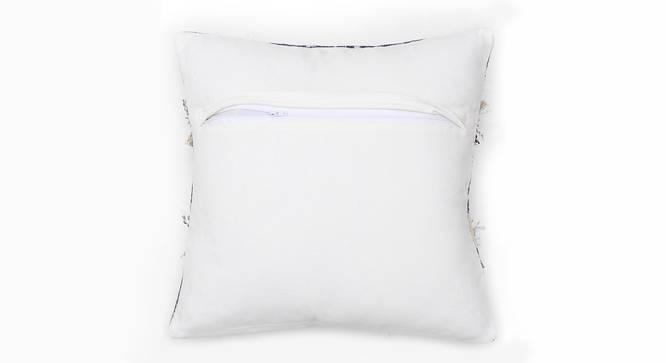 "Jamdan Cushion Cover (Blue, 41 x 41 cm  (16"" X 16"") Cushion Size) by Urban Ladder - Rear View Design 1 - 302199"